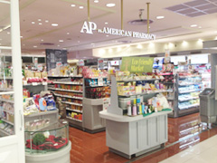 AP by AMERICAN PHARMACY渋谷ヒカリエShinQs店